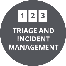 On-Scene Triage/Incident Management