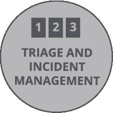 On-Scene Triage/Incident Management
